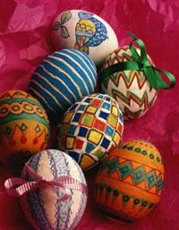 символ пасхального яйца