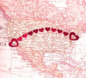 Стихи о любви на расстоянии